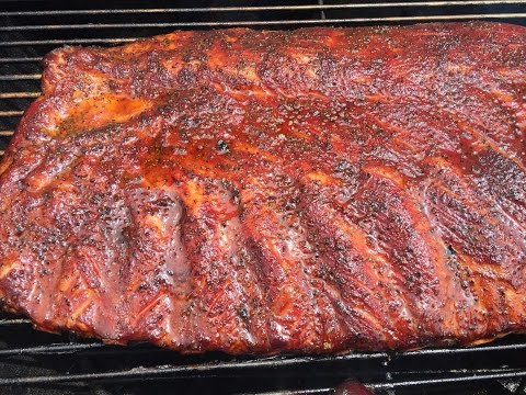 BBQ Ribs On The Weber Grill