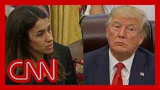 Download See Trump's reaction when survivor tells horrific story Video