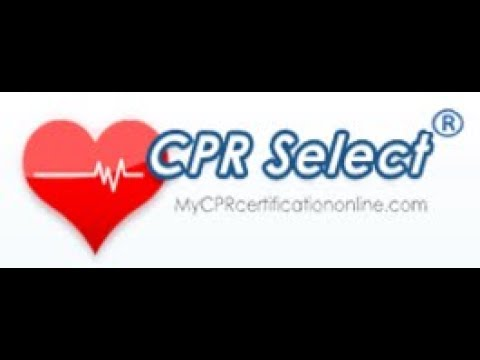 Online CPR and First Aid Certification Courses by CPRSelect