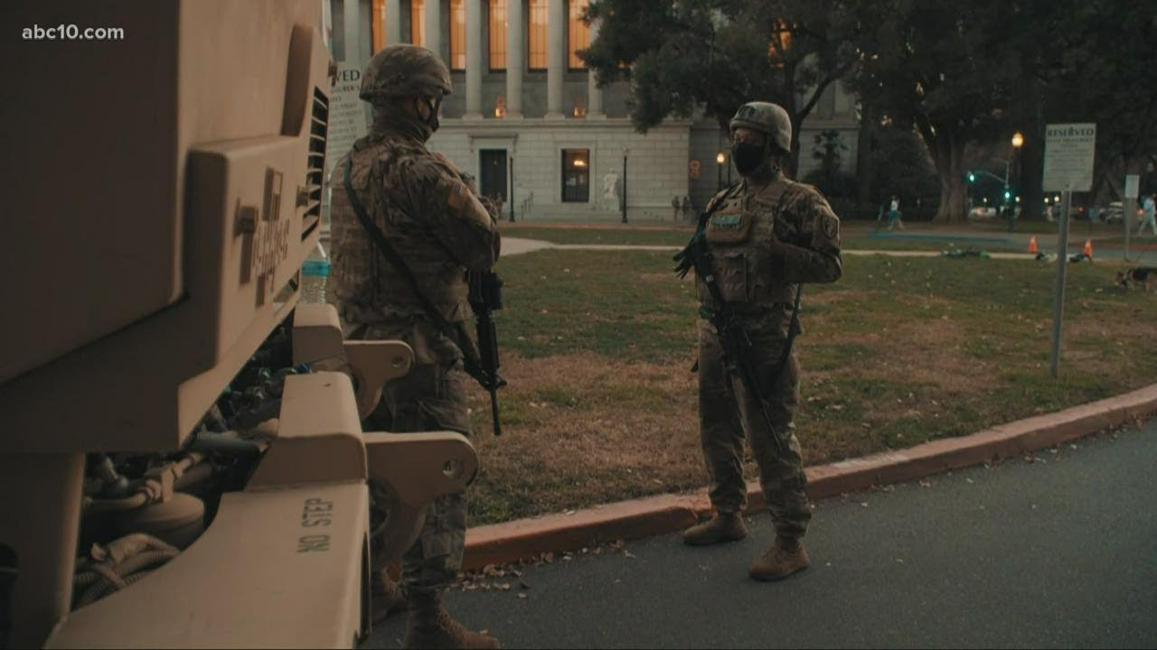 Sacramentans react to California National Guard monitoring Capitol for potential armed protests