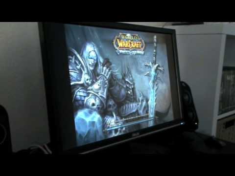 World Of Warcraft Demo on Mac Mini Early 09 (part 1)