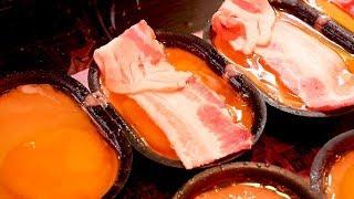 Download Bacon Egg Bread - Korean Street Food Video