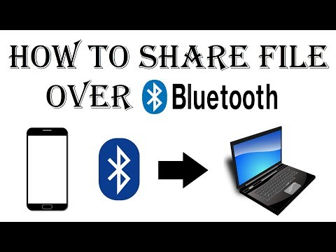How to Send File From Phone to PC via Bluetooth - Transfer/Share Photo/Video Through Using Bluetooth