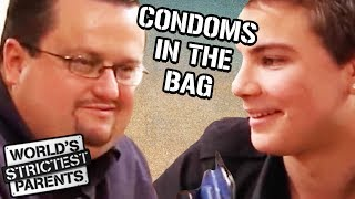 Teen Gets BUSTED Hiding 2 MORE Packs of Condoms | World's Strictest Parents