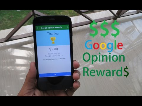 How To Get Google Opinion Rewards In Any Country And Earn Free Credit!