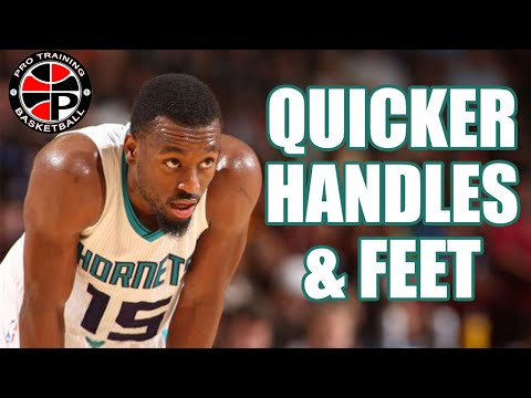 How To: Get Quicker Handles and Quicker Feet | Pro Training Basketball
