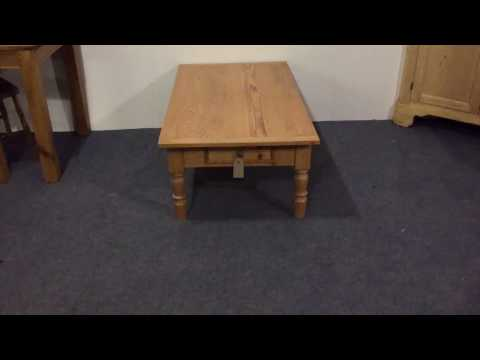 Converted 1920's Antique Table to Coffee Table for sale - Pinefinders Old Pine Furniture Warehouse