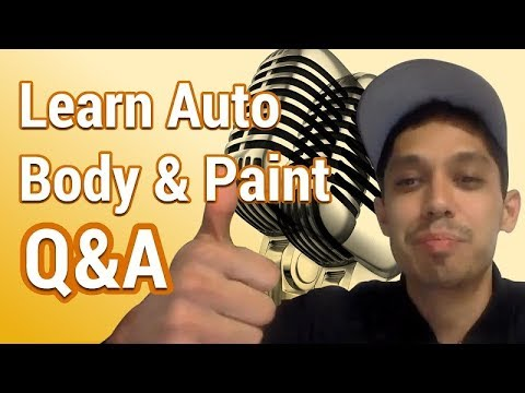 Learn Auto Body & Paint Q&A Live 8:30PM CST