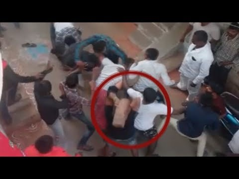 HYD GANG WAR Fight Between Two Group of Students in Kachiguda Hyderabad PLUS TV