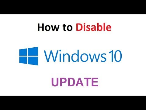 Turn off Windows Update in Windows 10