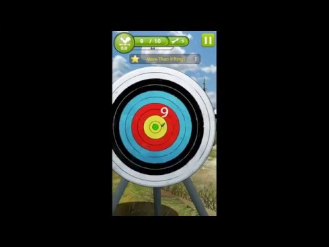 Archery Mastar 3D game App for samsung and iPhone
