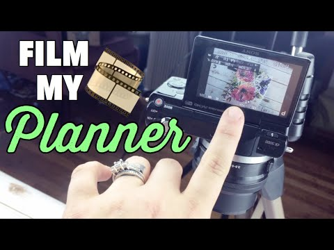HOW I FILM MY PLAN WITH ME VIDEOS + BEHIND THE SCENES | CLASSIC HAPPY PLANNER FILMING SET UP