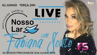 Live Solidária Nosso Lar com Fabiana Souto no Deck Beer - 02/06/2020
