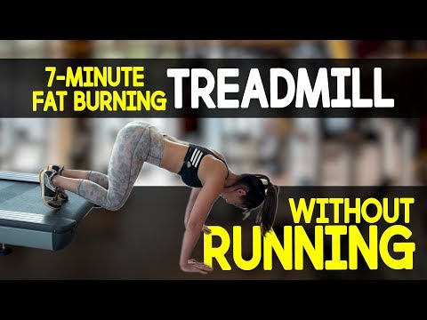 7-Minute Fat Burning TREADMILL (NO RUNNING!) | Joanna Soh