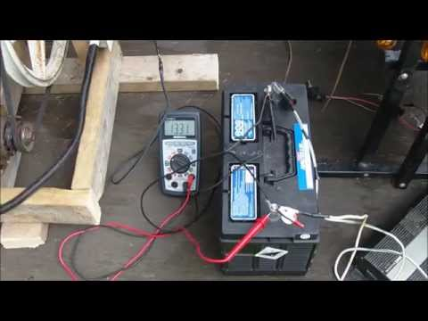 Homemade Bicycle Generator 40v dc 100watts +, built from junk