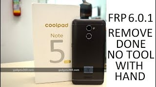 coolpad note 3 lite 8298-i00 frp remove by miracle box crack