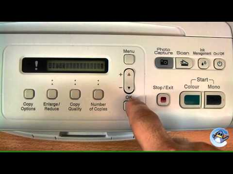 How to do a Cleaning Cycle on a Brother DCP-195C/DCP-197C Printer