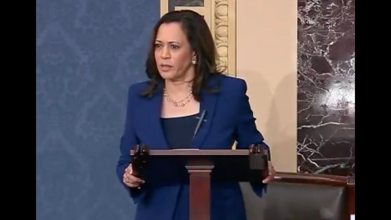A Republican Senator tried to embarrass Kamala Harris on the Senate floor... It backfired HORRIBLY