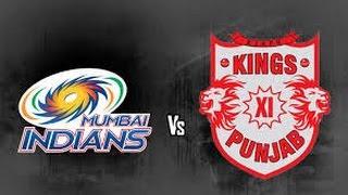 Ipl 2017 Mumbai Indians Vs Kings XI Punjab Full Match Highlights (DBC17)