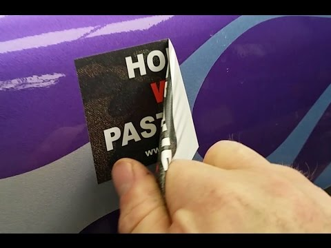 How to Remove Bumper Stickers & Vinyl Decals from your vehicle