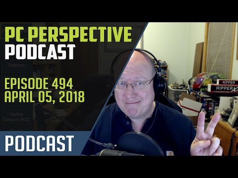 Podcast #494 - Intel 8th Gen launch, Samsung Z-NAND, and more!