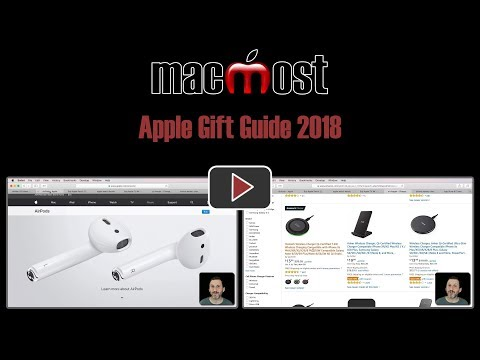Apple Gift Guide 2018 (MacMost #1795)