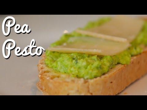 Super Simple Pea Pesto