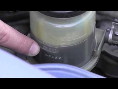 Toyota Matrix Power Steering Fluid Inspection
