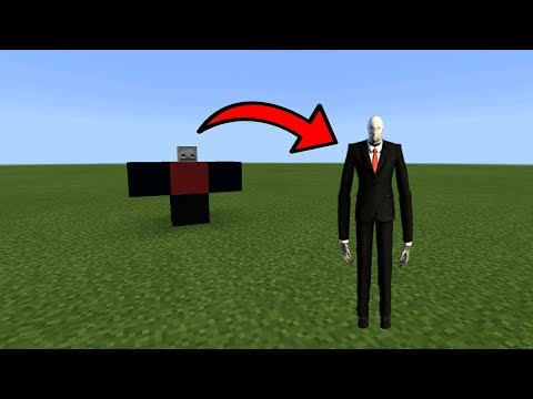 How To Spawn Slenderman in MCPE (Minecraft PE)