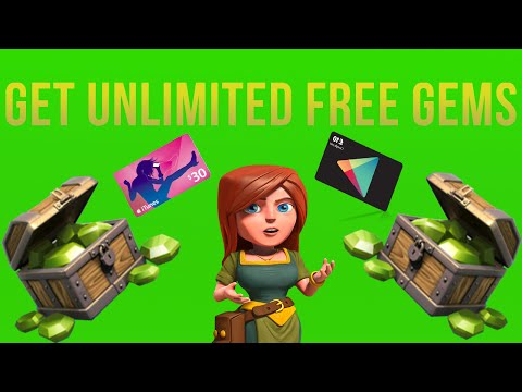 How To Get UNLIMITED FREE Gems On Clash Of Clans