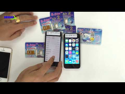 R-SIM Air2 Unlock For Iphone 4S/5/5C/5S iOS6. 7.1.1/ 7.X  Sprint+N