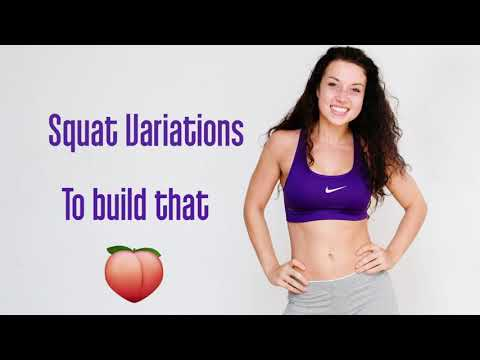 Best Squat Variations! Spice up your leg Day!!