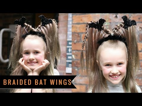 Braided Bat Wings by SweetHearts Hair