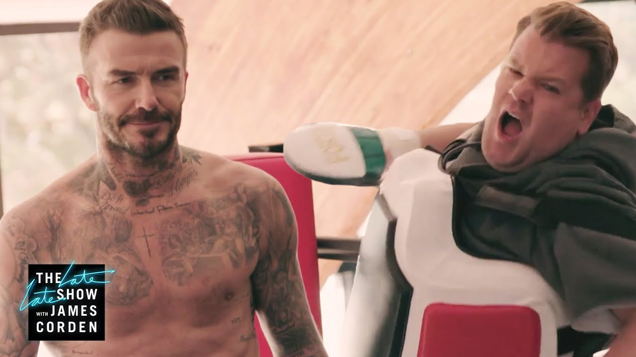 2 Hours Off w/ David Beckham - Spin & Boxing