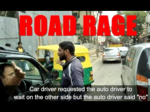 Road Rage in Bangalore | How not to take a turn | Reckless Driving | Lane Change Fail