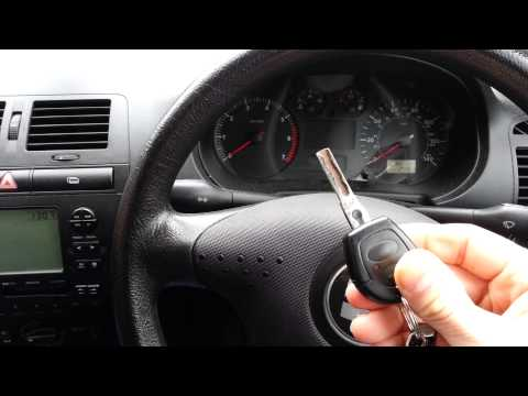 Seat Ibiza Key Fob Programming 1999 - 2002