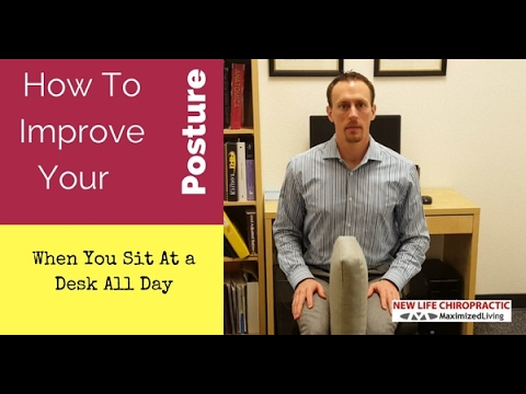 Simple Desk Exercise to Improve Your Posture