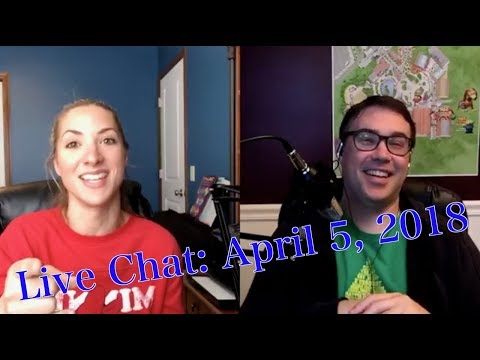 Live Chat 4-5-18: Fireworks Dessert Parties, Toy Story Mania, and More!