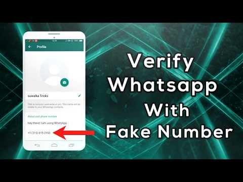 Verify Whatsapp with Fake Number   100% Working Trick with PROOF   Hindi/Urdu