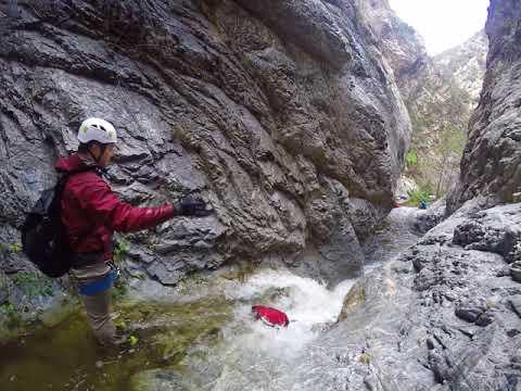 Eaton Canyon - Canyoneering