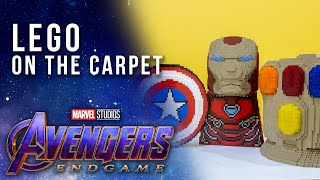 Incredible LEGO Installations at the Avengers: Endgame Premiere
