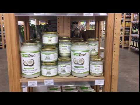 COCO Shed Organic virgin coconut oil