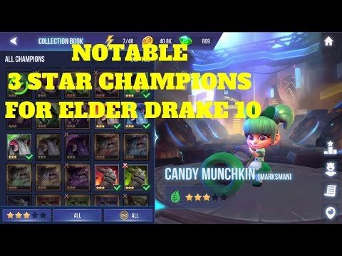Dungeon Hunter Champions Notable 3 Star in Doing Elder Drake 10