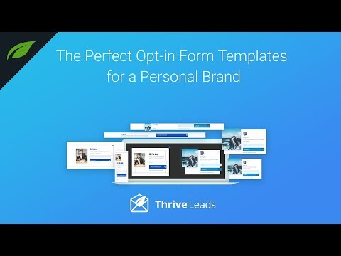 The Perfect Opt-in Form Templates for Coaches and Personal Brands