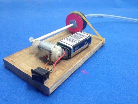 How to Make a Mini Air Pump for Aquarium