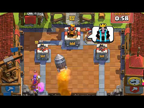 Bombs Away on ARENA 6!! - Clash Royale
