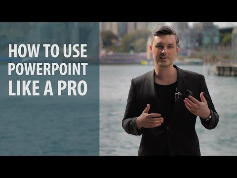 How to Use Powerpoint Like a Pro