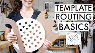 How to Use Templates for Woodworking Projects - Flush Trim Bit VS. Guide Bushing