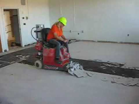 The Bronco Floor Stripper - The Flooring and Adhesive Removal Company