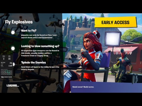 Fortnite l PC l LIVE l NEW EXPLOSIVES GAMEMODE